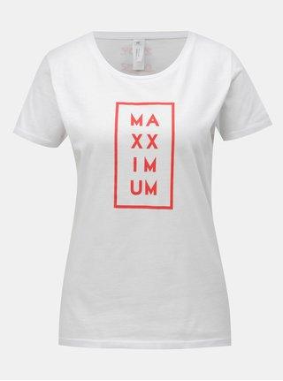Bílé dámské tričko Evropa 2 & ZOOT MaXXimum