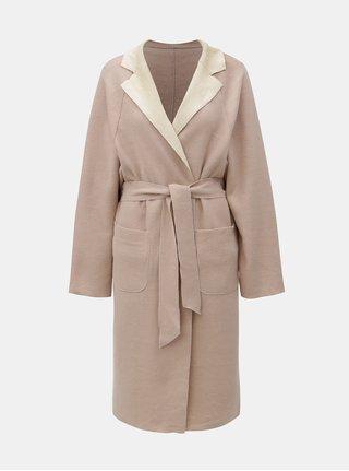 Starorůžový oboustranný kabát VILA