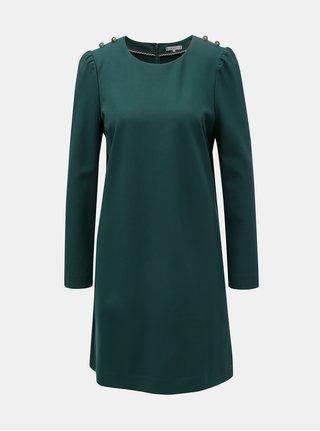 Tmavě zelené šaty Tommy Hilfiger Hatia