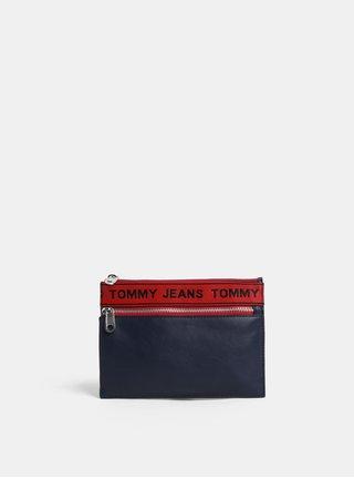 Tmavomodrá listová kabelka/puzdro Tommy Hilfiger Tape