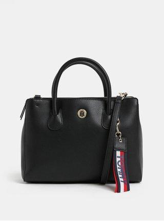 Černá kabelka s odnímatelným psaníčkem Tommy Hilfiger Charming