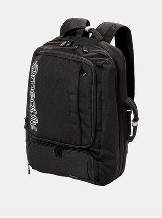 Černý batoh/taška na notebook s pouzdrem Meatfly 26 l
