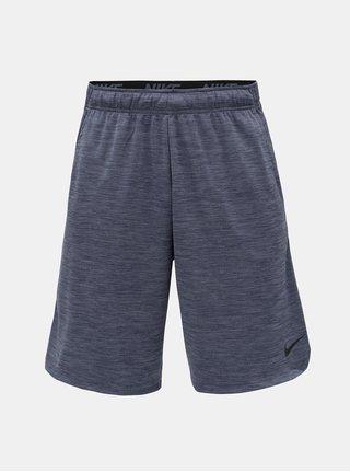 Modré pánske melírované Dri-FIT kraťasy Nike