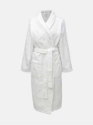 Halat de baie alb cu buzunare Calvin Klein Underwear
