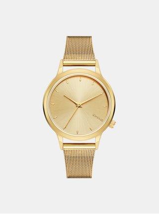 Dámske hodinky s nerezovým remienkom v zlatej farbe Komono Lexi Royale