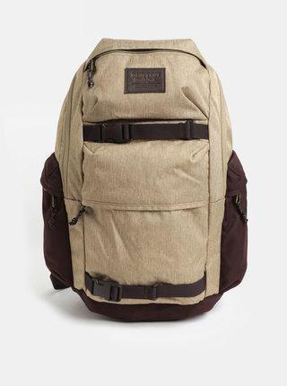 Hnedý melírovaný batoh Burton 27 l