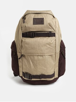 Hnědý žíhaný batoh Burton 27 l