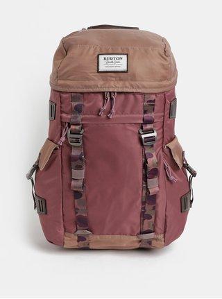 Hnedo–vínový batoh Burton 28 l