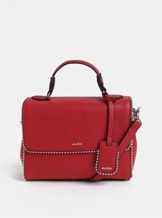 Červená malá kabelka s kovovými detaily ALDO