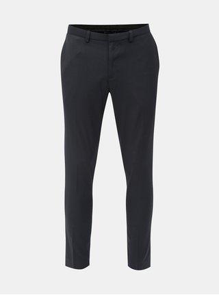 Tmavomodré super skinny fit nohavice Burton Menswear London
