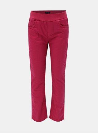 Ružové dievčenské termo nohavice Blue Seven