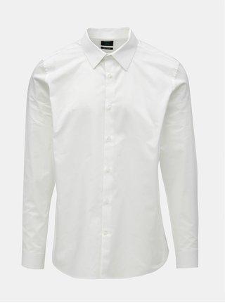 Biela formálna slim fit košeľa Burton Menswear London