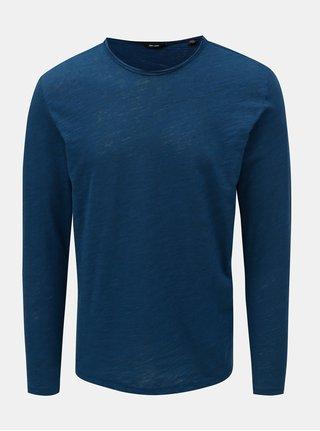 Modré žíhané tričko ONLY & SONS Albert
