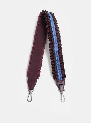 Modro-vínový kožený popruh BREE Cl Leather 917