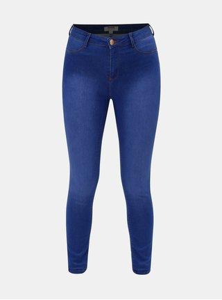 Blugi albastri super skinny din denim Dorothy Perkins Frankie