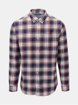 Červeno-modrá károvaná košile Jack & Jones Carrick
