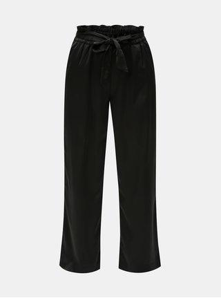 Pantaloni negri cu cordon in talie VERO MODA Genova