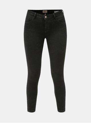 Černé push up skinny fit džíny ONLY Daisy