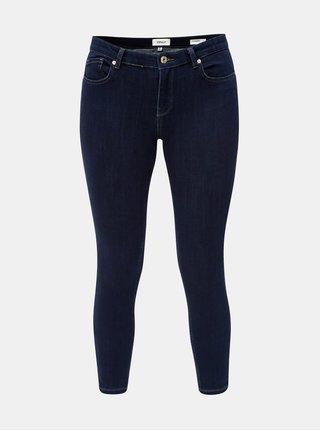 Blugi albastru inchis skinny fit din denim ONLY Carmen