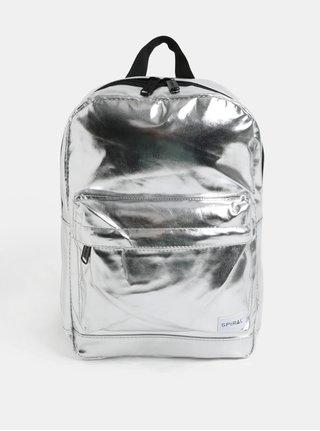 Batoh ve stříbrné barvě Spiral Mini