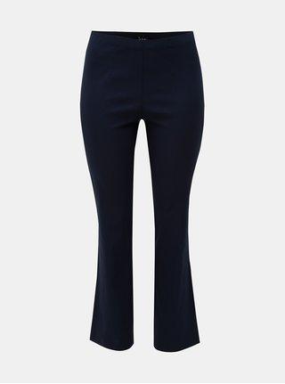 Modré kalhoty s elastickým pasem Ulla Popken