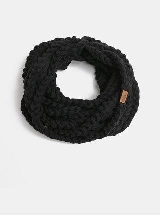 Fular de dama negru impletit DOKE