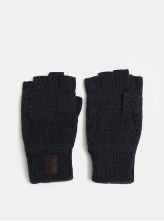 Manusi albastru inchis fara degete cu partea interioara din fleece ONLY & SONS Clas