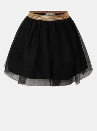 Černá holčičí  sukně Name it Tullu
