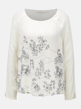 Bluza crem cu imprimeu SKFK Koruko