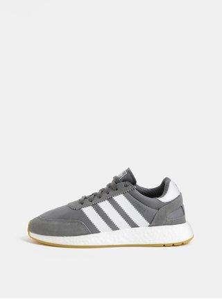 Sivé pánske tenisky so semišovými detailmi adidas Originals I-5923