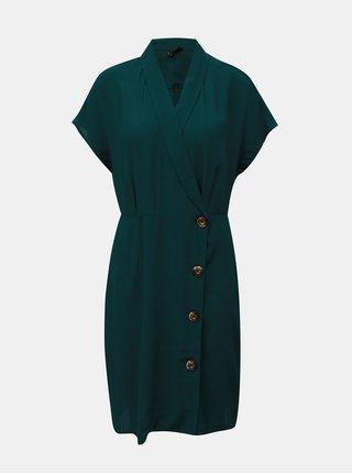 Zelené košilové šaty VERO MODA Riga