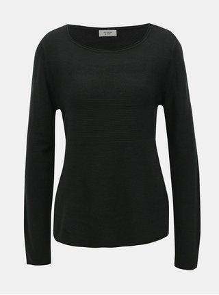 Pulover negru Jacqueline de Yong