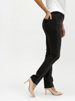 Čierne dámske slim fit rifle Garcia Jeans