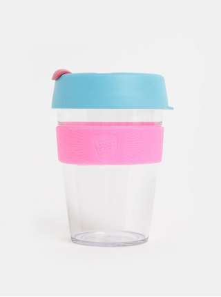 Cana roz-albastru de calatorie KeepCup Original medium 340 ml
