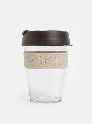 Cana gri-maro de calatorie KeepCup Original medium 340 ml