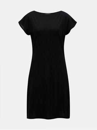 Černé šaty z Merino vlny Design by Lucie