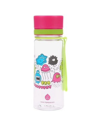 Plastová lahev s příšerkami EQUA (400 ml)