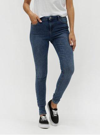 Modré skinny džíny Dorothy Perkins Tall