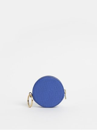 Portofel pentru monede albastru inchis din piele Vagabond Randers