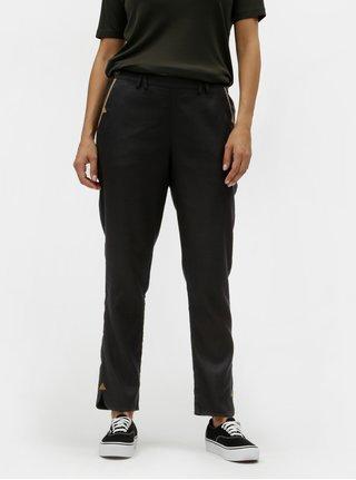 Pantaloni negri cu taieturi SKFK