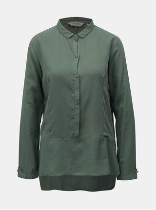 Bluza verde cu spate mai lung SKFK