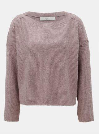 Růžový svetr Jacqueline de Yong Mille