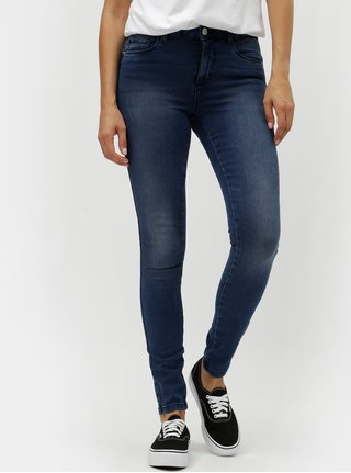 Blugi albastri skinny fit din denim ONLY Moka