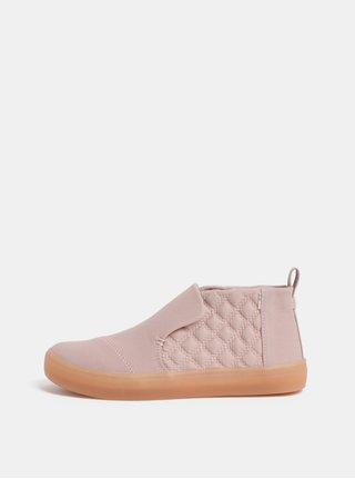 Ružové dámske členkové topánky TOMS Paxton