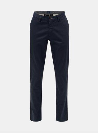 1539487751e Tmavě modré pánské slim fit chino kalhoty GANT