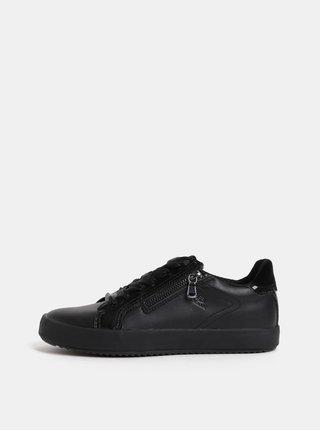 Pantofi sport de dama negri cu fermoare Geox Blomiee