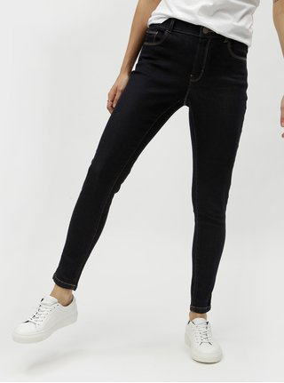 Tmavomodré skinny rifle Dorothy Perkins Petite Ashley