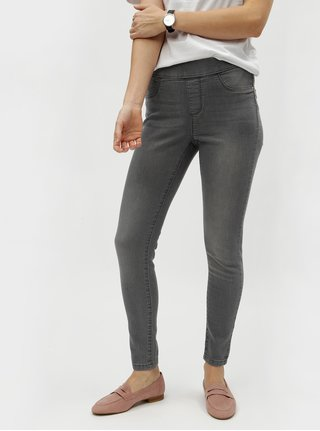 Jeggings gri deschis Dorothy Perkins Petite Eden
