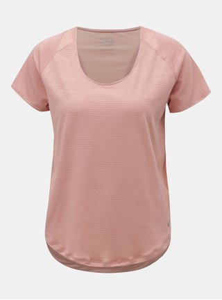 Růžové funkční tričko s krátkým rukávem Nike