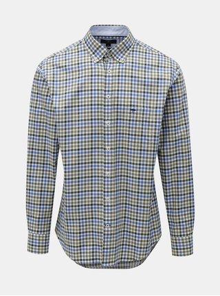 Zeleno–modrá vzorovaná košeľa Fynch-Hatton